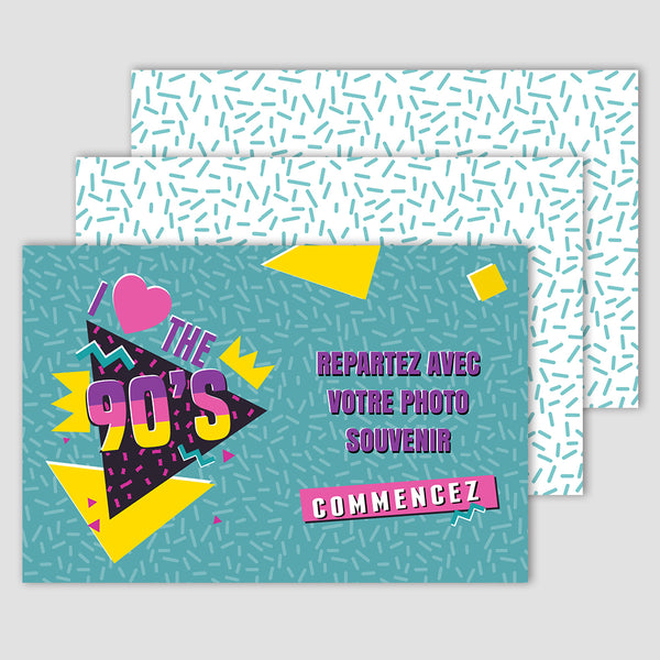 Back to 90's - Photobooth 10x15
