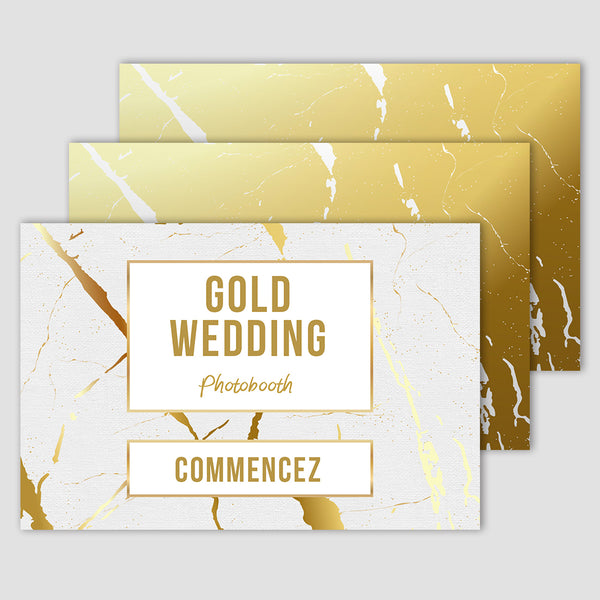 Wedding Gold - Photobooth 10x15