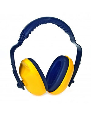 Duraplug™ Sound Dampening Yellow Earmuffs With Adjustable Headband - Free Shipping on $50 orders
