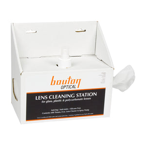Bouton® Optical Lens Cleaning Station (1 case of 600 tissues)