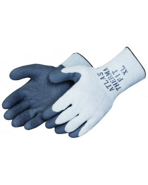SHOWA® ATLAS® - 300I  Grey latex dipped palm (12 pair)