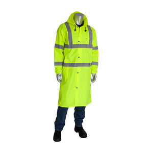 "Viz™ ANSI Type R Class 3 Value All Purpose 48"" Raincoat  353-1048"