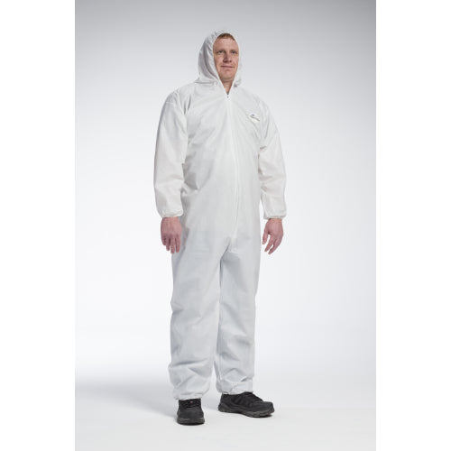 West Chester 3706 Posi-Wear UB, Coverall, Elastic Wrist/Ankle/Hood Case 25