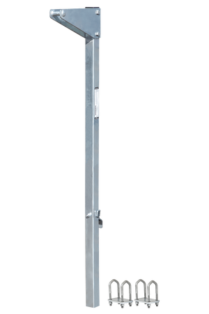"FallTech  5' Bolt-on Ladder Stanchion Anchor with 12"" Overhead Offset"