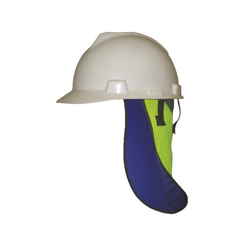 TechNiche 6525 Evaporative Cooling Hard Hat Neck Shade, HyperKewl PLUS