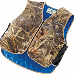 TechNiche 6529-RT Evaporative Cooling Sport Vest, Powered by HyperKewl, RealTree Camo