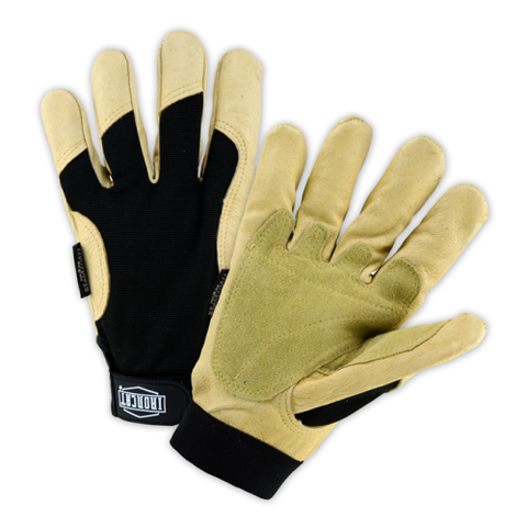 WC-86355 Winter Lined: Iron Cat ® Heavy Duty Grain Pigskin Glove is a natural fitting glove with C40 Thinsulate Lining. Features split leather patch reinforcement on the palm and thumb saddle as well as reinforced fingertips for increased protection.… - Free Shipping on $50 orders