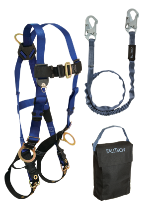 Back and Side D-rings , Tongue Buckles and 6' Internal SAL and Gear Bag