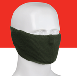 Ribbed-knit Face Cover (12 Pairs)