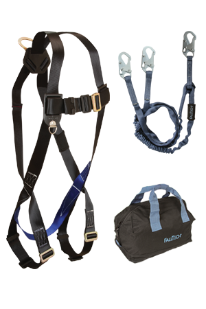 3pt, Back D-ring, Mating Buckles, 6' Internal Y-Leg and Gear Bag