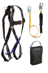 3pt, Back D-ring, Mating Buckles, 6' SoftPack Lanyard and Gear Bag