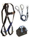 3pt, Back D-ring, Mating Buckles, 6' Internal Y-Leg, Rebar, and Gear Bag