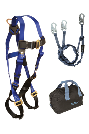 Back D-ring, Mating Buckles, 6' Internal Y-Leg and Gear Bag