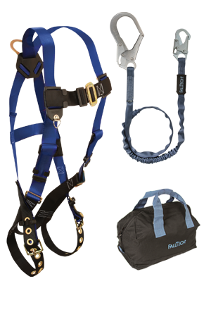 Back D-ring, Tongue Buckles, 6' Internal, Rebar and Gear Bag