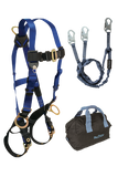 Back and Side D-rings , Tongue Buckles, 6' Internal Y-Leg and Gear Bag