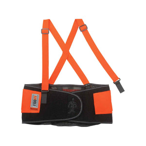 Back Support - Ergodyne ProFlex® 100HV Economy Spandex Hi-Vis Back Support