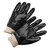Chemical Gloves - West Chester 1007, Knit Wrist PVC Chemical Glove, Smooth 12 Pair