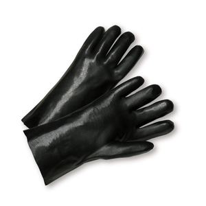 "Chemical Gloves - West Chester 1027 12"" PVC Chemical Glove, Smooth, 12 Pair"