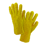 "Chemical Gloves - West Chester J1027ygp 12"", Yellow PVC Gloves, Chunky Rough, Jersey Lined, 12 Pair"