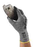 Coated Gloves - Ansell HyFlex 11-801, 12 Pair, Breathable Nitrile Coated Safety Gloves