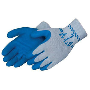 Coated Gloves - Coated Gloves, 300, Showa Atlas, Crinkle Coated Blue Latex Palm, 12 Pair
