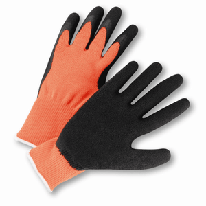 Coated Gloves - Coated Gloves, HVO700SLC, Crinkle Latex Coated,