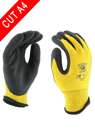 Coated Gloves - West Chester 713WHPTPD A4 Cut, Hydropellant Winter Gloves, 12 Pair