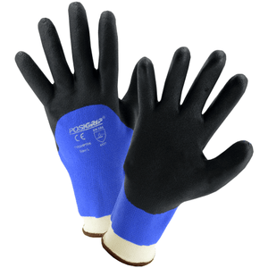Coated Gloves - West Chester 715SHPTFK PosiGrip Water Resistant PVC Coated Gloves, 12 Pair
