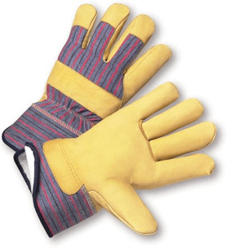 On Sale! West Chester 5555 120g PosiTherm Lined, Pigskin Winter Glove with Safety Cuff- 12 Pair