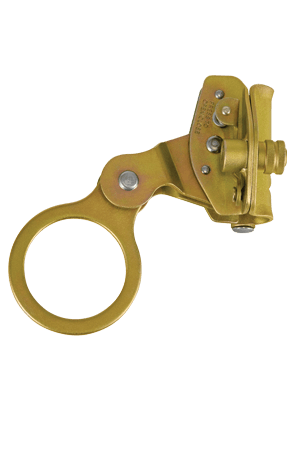 "Connectors - FallTech 7479 Self-Tracking Rope Grab, Hinged, For 5/8"" Rope, Coated Steel"