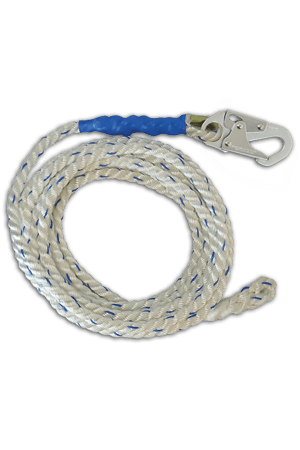 "Connectors - FallTech 820020 200' Vertical Lifeline, 5/8"" Premium Polyester Rope"