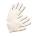 Cotton/Canvas Gloves - West Chester 708, Poly/Cotton Knit Wrist Canvas Gloves, Economy, 12 Pair