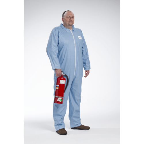 Coveralls - West Chester 3100 Posi-Wear FR - Flame Resistant Blue Coverall 25pk