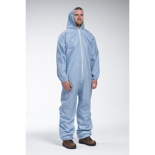 West Chester 3106 Posi-Wear FR- Flame Resistant Blue Coverall- 25pk