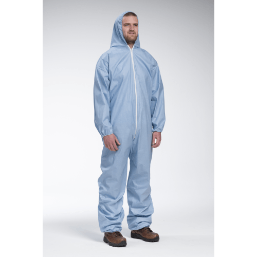 Coveralls - West Chester 3106 Posi-Wear FR- Flame Resistant Blue Coverall- 25pk