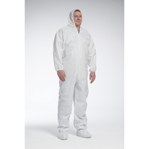 Coveralls - West Chester 3709 Posi-Wear UB, Chemical And Blodd Resistant Coveralls 25pk
