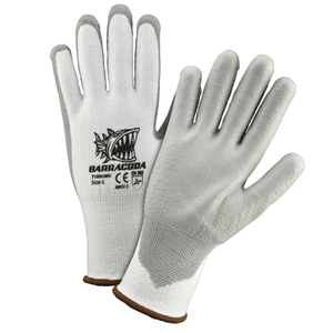 Cut Resistant Gloves - Cut Resistant Glove, 713HGWU, Barracuda, White, A2 Cut, 12Pair