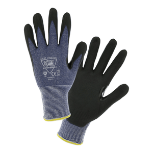 Cut Resistant Gloves - West Chester 715HNFR Barracuda Cut Resistant Nitrile Palm Gloves 12 Pair