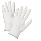 Cut Resistant Gloves - West Chester 720DWU White HPPE A2 Cut Resistant, White PU Coated 12 Pair