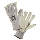 Cut Resistant Gloves - West Chester 730TGLP PosiGrip Cut And Heat Resistant Leather Palm 12 Pair