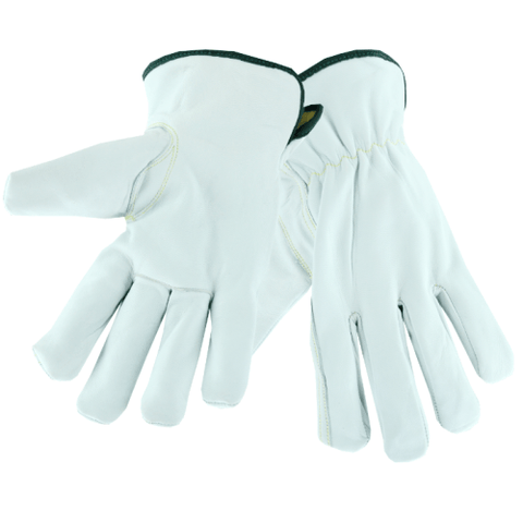 Cut Resistant Gloves - West Chester Ks992k, Premium Leather Driver, Cut, Puncture, Arc Flash, Pair