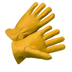 Deerskin Drivers Gloves - Leather Glove, Driver, 9920kt, Premium Deer Skin, Thermal Insulated, Keystone Thumb, 12 Pair