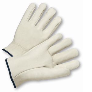 Drivers Gloves - Leather Glove, Driver, 990, Select, Straight Thumb, 12 Pair