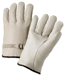Drivers Gloves - Leather Glove, Driver, 990ls, Select, Buckle, Straight Thumb, 12 Pair