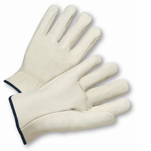 Drivers Gloves - Leather Glove, Driver, 995, Standard, Straight Thumb, 12 Pair