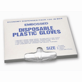 Gloves - West Chester 2400R Disposable Plastic Food Service Gloves, 10000ea