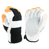 Gloves - West Chester 86560, FR Leather Driver Glove, A3 Cut Resistant, Goat Skin, 3 Pair