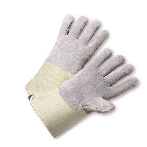 West Chester 900-AA Full Leather Back Kevlar® Sewn Gauntlet Cuff Safety Glove