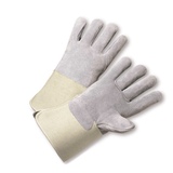Gloves - West Chester 900-AA Full Leather Back Kevlar® Sewn Gauntlet Cuff Safety Glove
