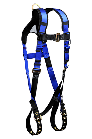 Harnesses And Belts - Falltech 7016B Contractor+ Plus Full Body Harness, 1 D-Ring, Free Shipping